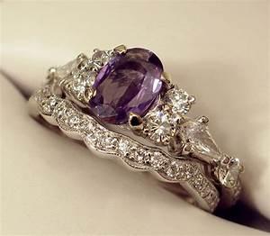 natural alexandrite and diamond rings wedding promise With natural alexandrite wedding rings