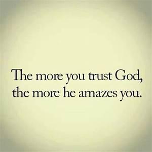 Trust God | quotes | Pinterest