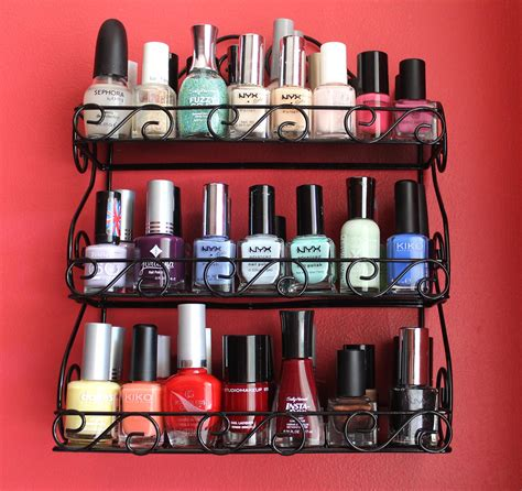 rangement pour vernis a ongle id 233 es de rangement vernis 224 ongles ma collection maquillage cynthia
