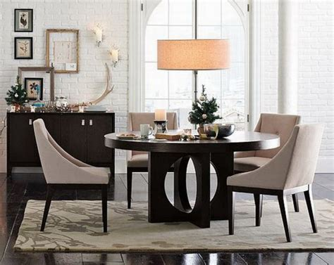 Contemporary Dining Area With Table Design Ideas