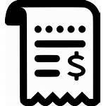 Icon Receipt Svg Request Receipts Bidding Onlinewebfonts