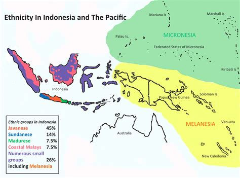 ethnicity map west papua background