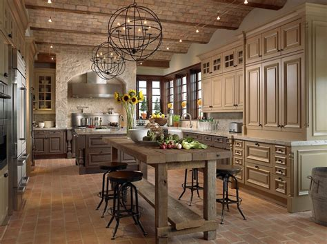 country home kitchen کابینت و اهمیت آن در طراحی آشپزخانه ای شیک و زیبا 2714