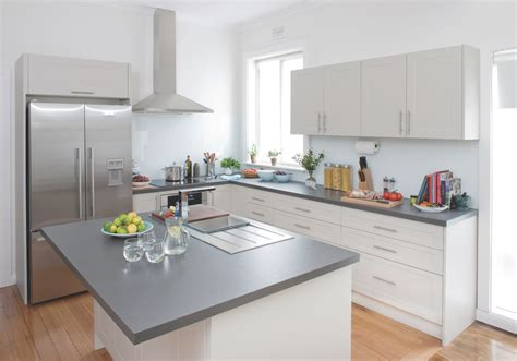 flat pack kitchen cabinets kitchen gallery high profile kaboodle kitchen
