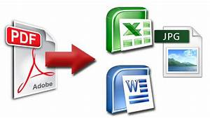 How To Convert Pdf File To Word  Excel  Powerpoint  Jpg