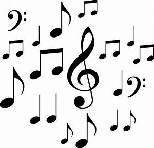 Music Notes clipart little - Pencil and in color music ...