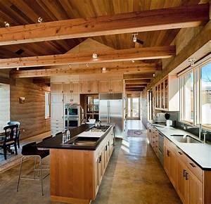 Moderne Küchen 2016 : estrich der fu boden im industrial style f r moderne k chen im landhausstil freshouse ~ Buech-reservation.com Haus und Dekorationen
