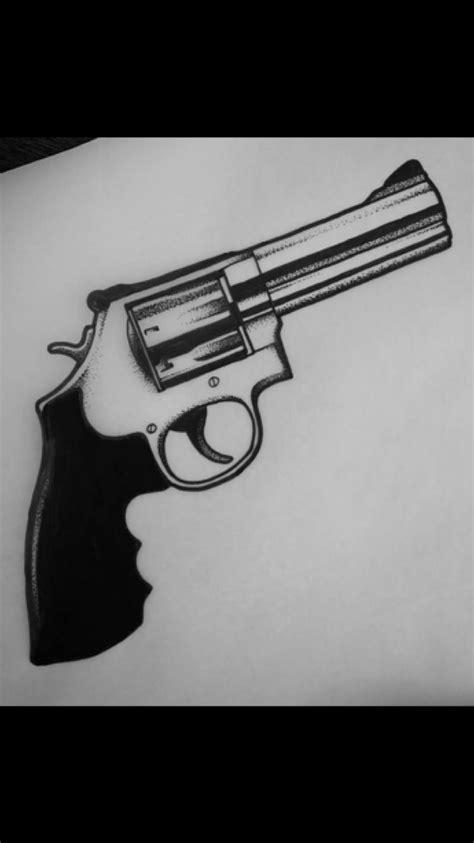 Pin on Gun Tattoo