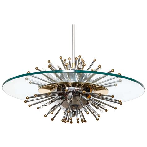 lightolier sputnik starburst chandelier at 1stdibs