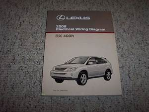 2008 Lexus Rx 400h Rx400h Factory Original Electrical