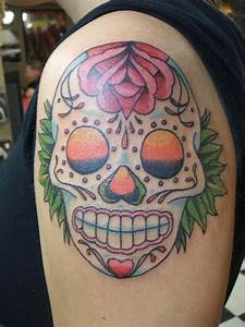 Sugar Skull Tattoo Design Images [Beauty & Style ...