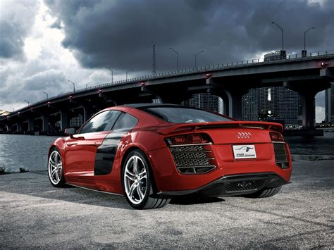 Red Back Audi R8 Wallpaper #23181 Wallpaper
