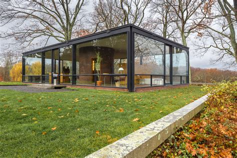 Glass House Johnson by The Glass House By Philip Johnson Architecture