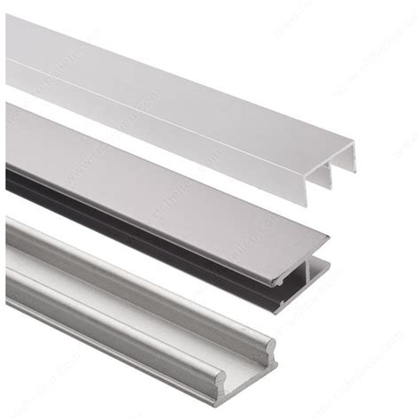 track set for display glass sliding doors richelieu hardware