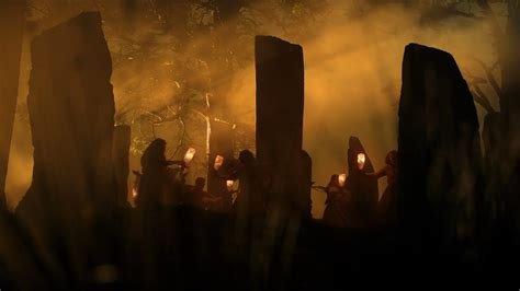 druids scene outlander youtube