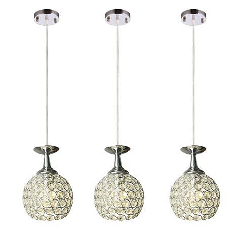 3 Light Hanging Ceiling Pendant Lamp Fixture Bar Lamp