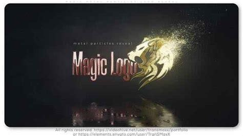 Find music visualization templates for every genre and style. VIDEOHIVE MAGIC METAL PARTICLES LOGO REVEAL 26215603 - VFXDownload.Net - Free Download After ...