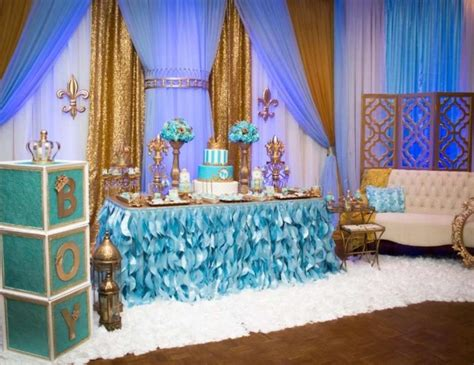 king birthday quot gold and blue royal baby shower quot catch my party