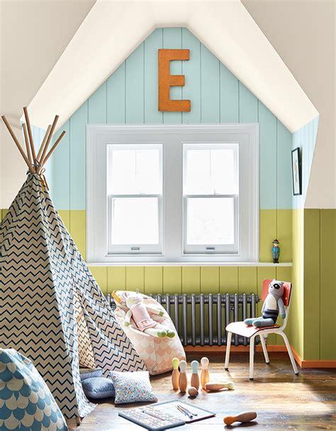 repeindre chambre amazing peindre un mur de plusieurs couleurs pour apporter