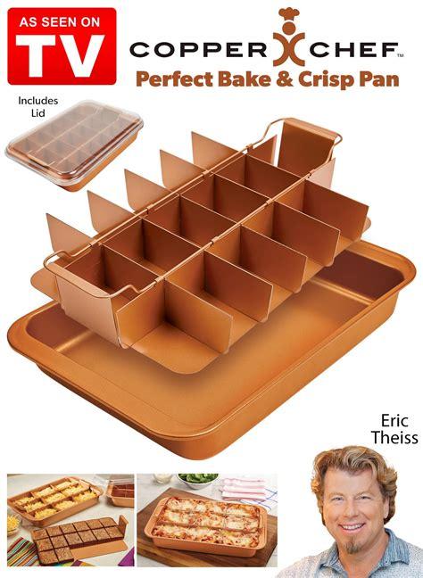 copper chef perfect bake  crisp pan carolwrightgiftscom