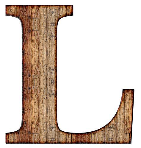 wooden capital letter l transparent png stickpng