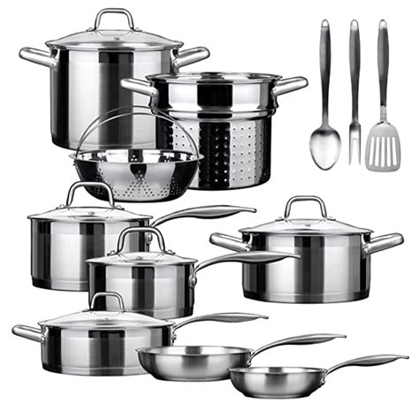 stainless steel cookwares sets   usa skillet love