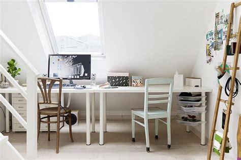 home ikea white ikea linnmon adils table setup for home office minimalist desk design ideas