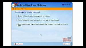 Cdl School Bus - Commercial Driver License