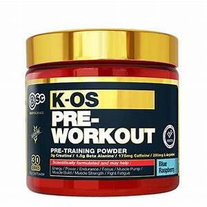 Buy Body Science Bsc K-os Pre-workout