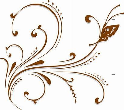 Scroll Floral Decoration Retro Transparent Pluspng