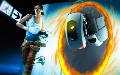 Chell And Glados Portal 2 Photo 25784808 Fanpop
