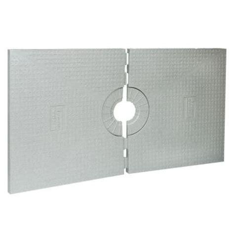kerdi shower tray schluter kerdi shower 32 in x 60 in shower tray st 81 152 the home depot