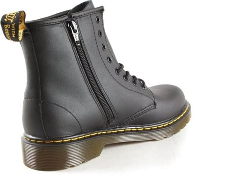 bolcom dr martens delaney schoenen met rits en veter meisjes maat  zwartzwarte