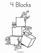Coloring Pages Blocks Square Preschool Rectangle Shape Abc Block Drawing Letter Getcolorings Getdrawings Printable Colorings sketch template