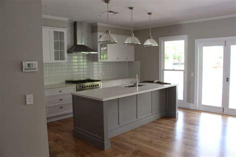 Grey Cupboards Kitchen by Grey Caesarstone Search Kitchen Styles