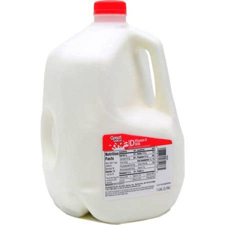 Great Value Whole Milk, 1 gal - Walmart.com