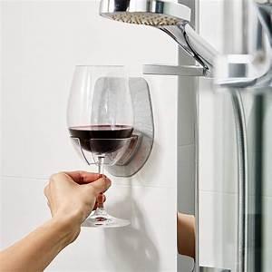 Watt, Plastic, Wine, Glass, Holder, For, The, Bath, Shower, Red, Wine, Glass, Holder, 12, 26