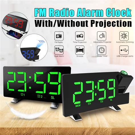✔️ customize your own preview on ffonts.net to make sure it`s the right one for your designs. LED Digital Font Display SmartSet Projection Lightweight Punctual Alarm Clock With USB Charging ...