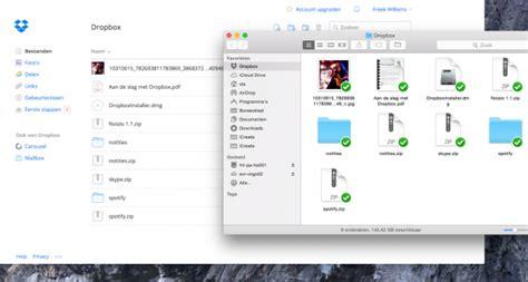 samenwerken en bestanden delen met dropbox icreate