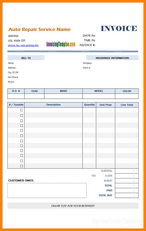 mobile phone bill format  excel sample travel bill