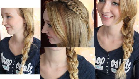 frisuren alltag anleitung 5 haarfrisuren schule wiesn alltag mirellativegal