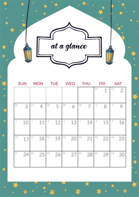 ramadan calendar plan ramadan activities ramadan printables ramadan