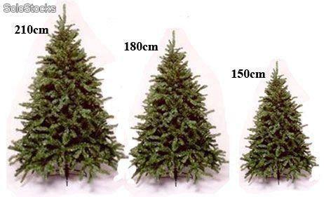 arbol artificial de navidad hasta 2 10metros luces de