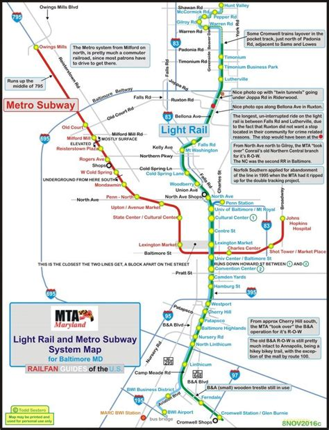baltimore light rail the baltimore light rail system