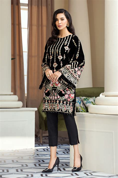 Khaadi Luxury Velvet Winter Collection 2020