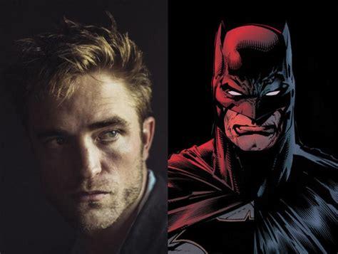 robert pattinson  officially  batman