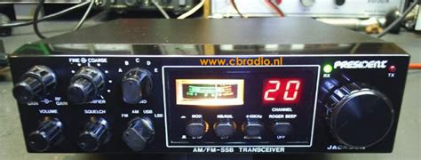 Modification Cb President Jackson by Www Cbradio Nl Picture Manual And Specifications Of The