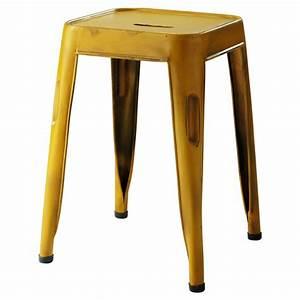 Tabouret De Bar Jaune : tabouret de bar jaune maison du monde choix d 39 lectrom nager ~ Teatrodelosmanantiales.com Idées de Décoration
