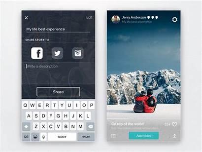 Navigation App Ramotion Inspiration Mobile Ui Medium