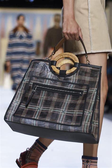 fendi springsummer  runway bag collection spotted